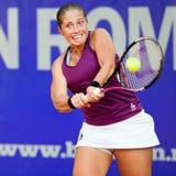 Jugador de tenis rumano Madalina Gojnea Imagen de archivo