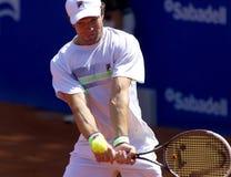 Jugador de tenis ruso Teymuraz Gabashvili Fotografía de archivo libre de regalías