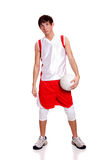 Jugador de voleibol Imagen de archivo libre de regalías