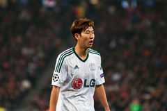 Jugador del Bayer Leverkusen Imagen de archivo