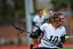 jugador del lacrosse Imagenes de archivo