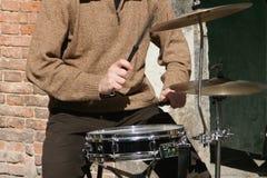 Jugador del tambor Imágenes de archivo libres de regalías