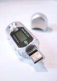 Jugador del USB MP3 Imagen de archivo libre de regalías
