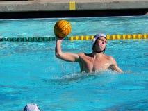 Jugador del water polo Foto de archivo libre de regalías