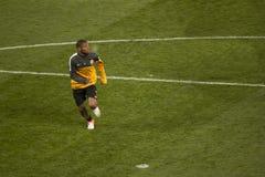Jugador Luiz Adriano de Shakhtar Fotografía de archivo libre de regalías