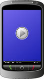 Jugador móvil Imagenes de archivo