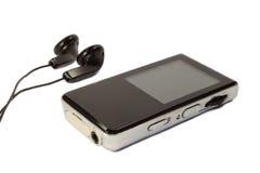 Jugador MP3 Foto de archivo