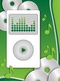 Jugador Mp3 Imagen de archivo