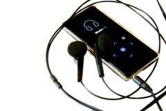 Jugador MP3 Imagen de archivo libre de regalías