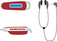 Jugador MP3 Stock de ilustración