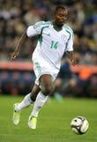 Jugador nigeriano domingo Mba Imagen de archivo