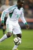 Jugador nigeriano Ejike Uzoenyi Fotos de archivo