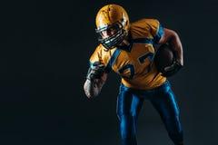 Jugador ofensivo del fútbol americano, NFL imagenes de archivo