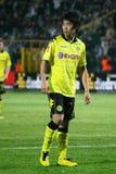 Jugador Shinji Kagawa de Dortmund Borussia Foto de archivo libre de regalías