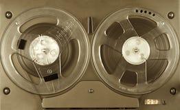 Jugador y registrador de carrete Fotografía de archivo libre de regalías