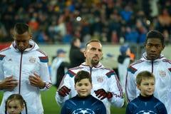 Jugadores de FC Baviera Imagen de archivo libre de regalías