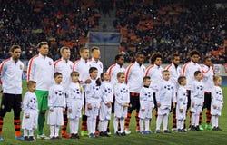 Jugadores de FC Shakhtar Donetsk Foto de archivo