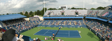 Jugadores de tenis profesionales - emparejamiento Imagenes de archivo