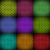 Jugando, póker, sistema del fondo del símbolo de las tarjetas de la veintiuna Imagenes de archivo