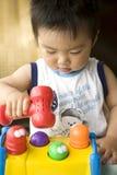 Jugar al bebé Foto de archivo libre de regalías