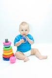 Jugar al bebé Imagen de archivo
