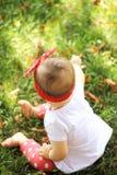 Jugar al bebé Imagen de archivo libre de regalías
