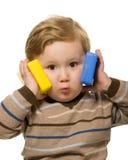 Jugar al niño Imagen de archivo libre de regalías