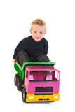 Jugar al niño pequeño Imagen de archivo libre de regalías
