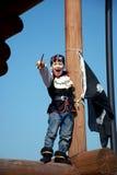 Jugar al pirata Fotografía de archivo