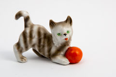 Jugar el gato Foto de archivo
