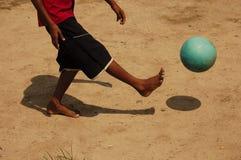 Jugar la bola Fotografía de archivo