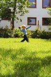 Jugar la bola Foto de archivo libre de regalías