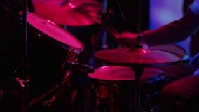 Jugar la percusión almacen de video