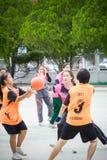 Jugar los deportes para la salud Imágenes de archivo libres de regalías