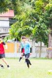 Jugar los deportes para la salud Fotografía de archivo