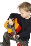 Jugar música Imágenes de archivo libres de regalías
