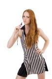 Juge de femme d'isolement Image stock