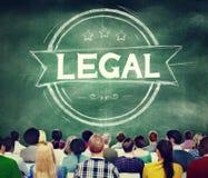 Juge juridique Ethical Concept de lois de légalisation photos libres de droits