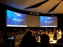 Jugeant l'événement - jeunes explorateurs des TCI - Australie du sud images stock