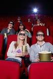 Jugend am Kino Lizenzfreie Stockfotos