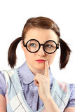 JugendAussenseiter im Gedanken Lizenzfreie Stockfotografie