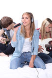Jugendband stockfoto