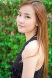 Jugendlich asiatisches Mädchen stockfotografie