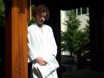 Jugendlich am Badekurort Lizenzfreie Stockbilder