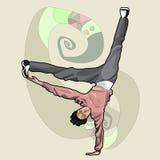 Jugendlich Breakdance Lizenzfreie Stockfotografie
