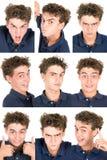 Jugendlich Gesichter stockbilder