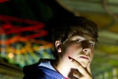 Jugendlich-Junge Stockfoto