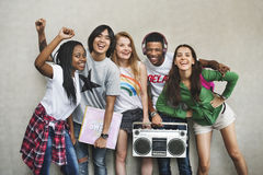 Jugendlich-Lebensstil-zufälliges Kultur-Jugend-Art-Konzept lizenzfreies stockfoto