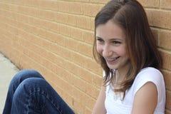 Jugendlich Mädchen Stockbild