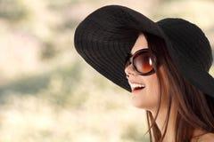 Jugendlich Mädchen des Sommers freundlich stockfotos